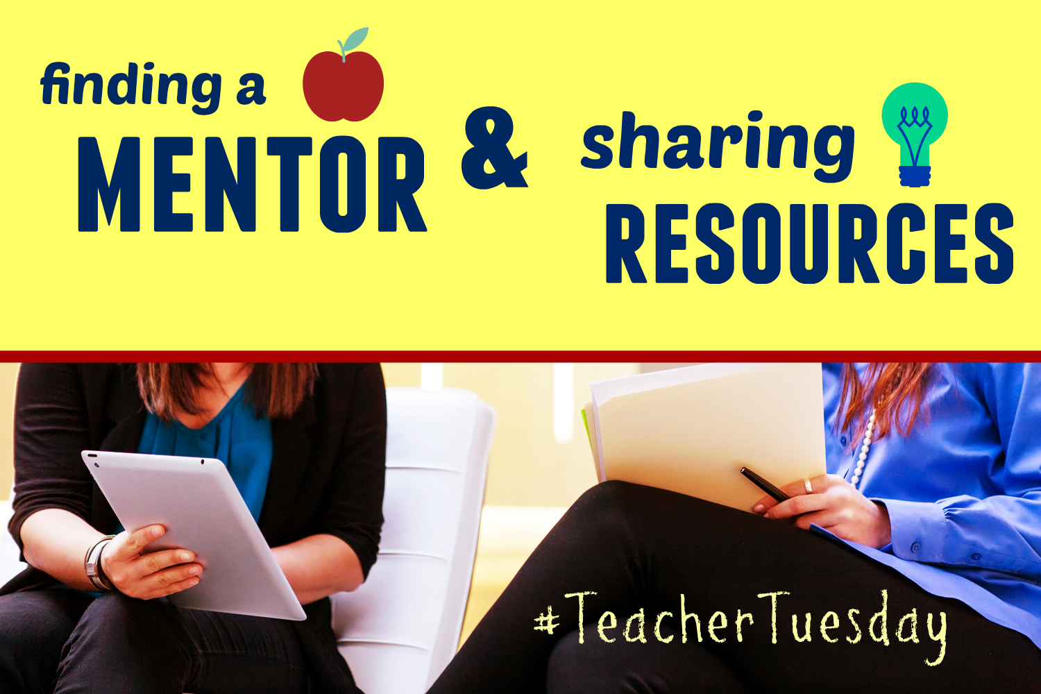 finding a mentor and sharing resources