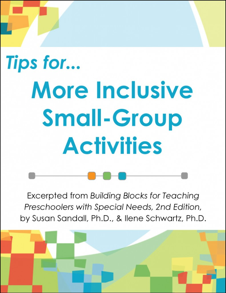 tips for more inclusive small-group activities