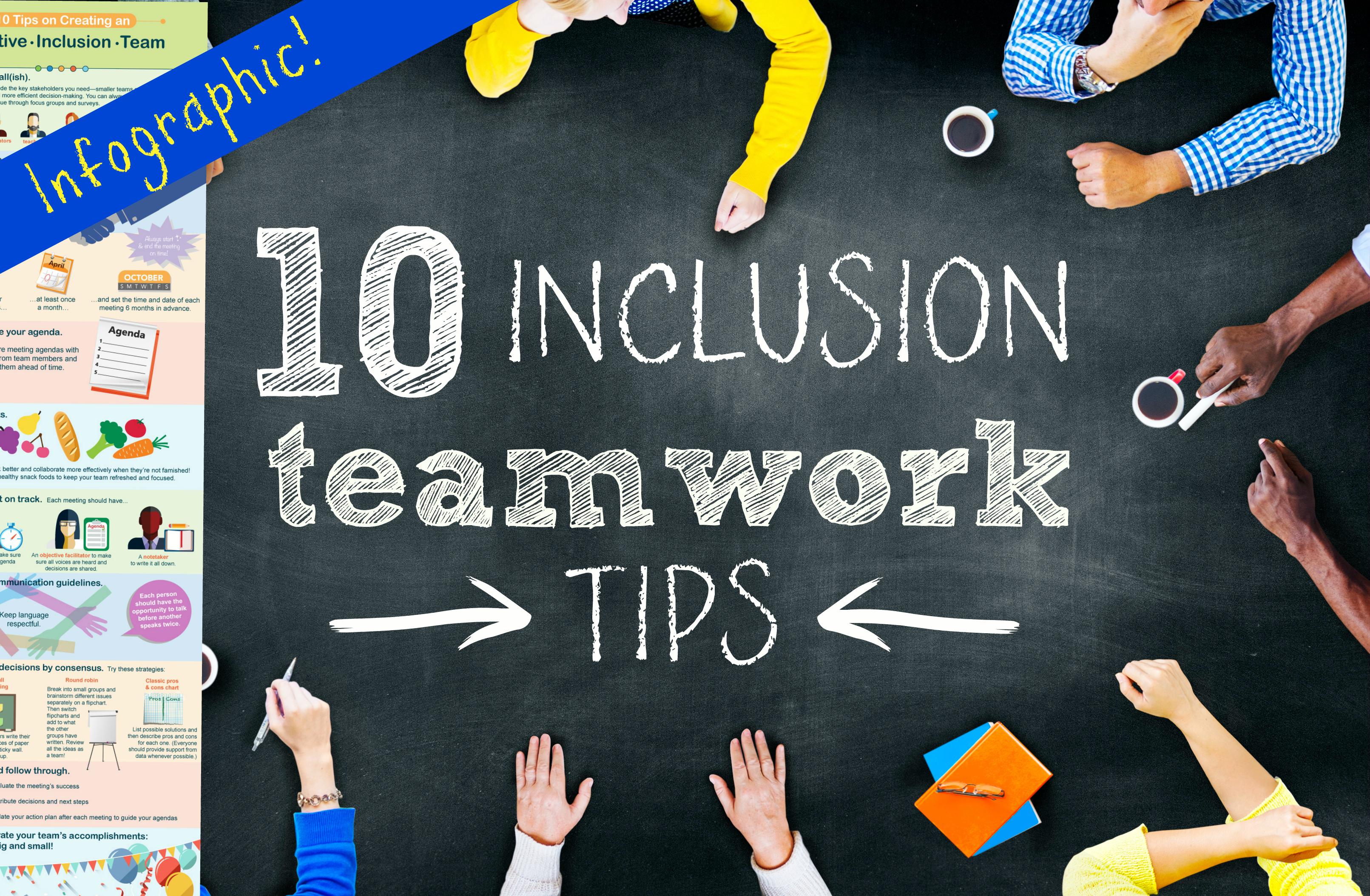 inclusion teamwork tips