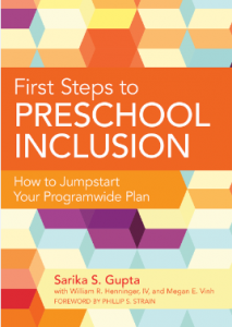 first steps to preschool inclusion gupta