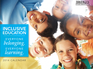 inclusive education calendar everyone learning 2014