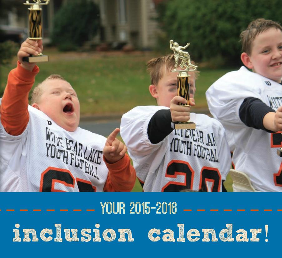 inclusion calendar 2015