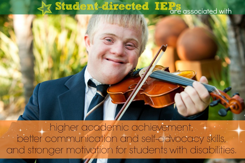 student directed IEPs high achievement