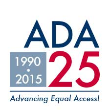 ADA 25 advancing equal access