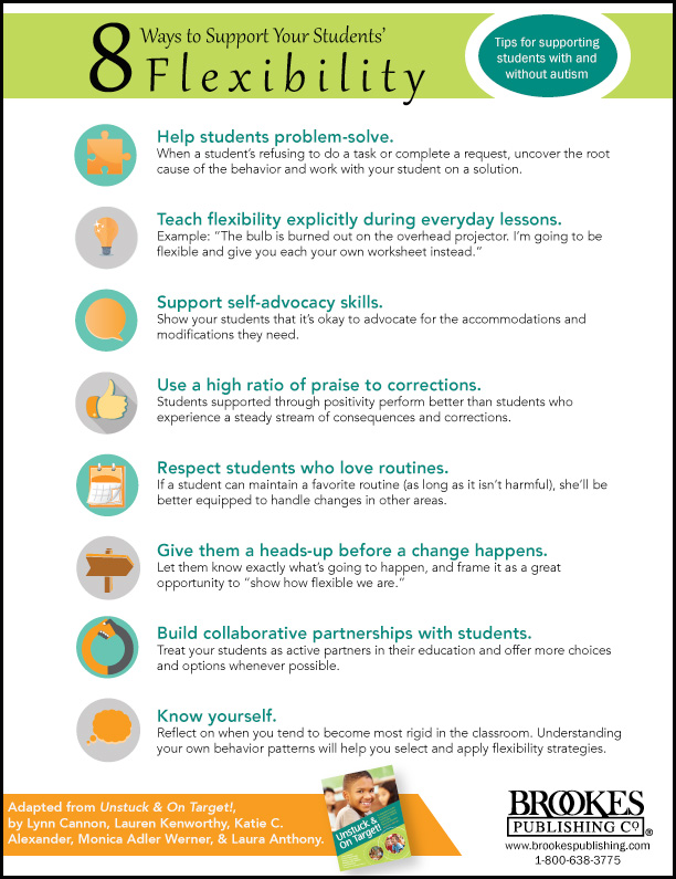 8 ways to support students' flexibility