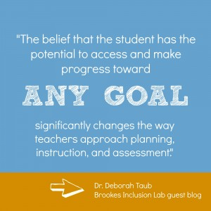 belief in student potential
