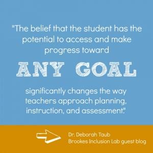 belief in student potential