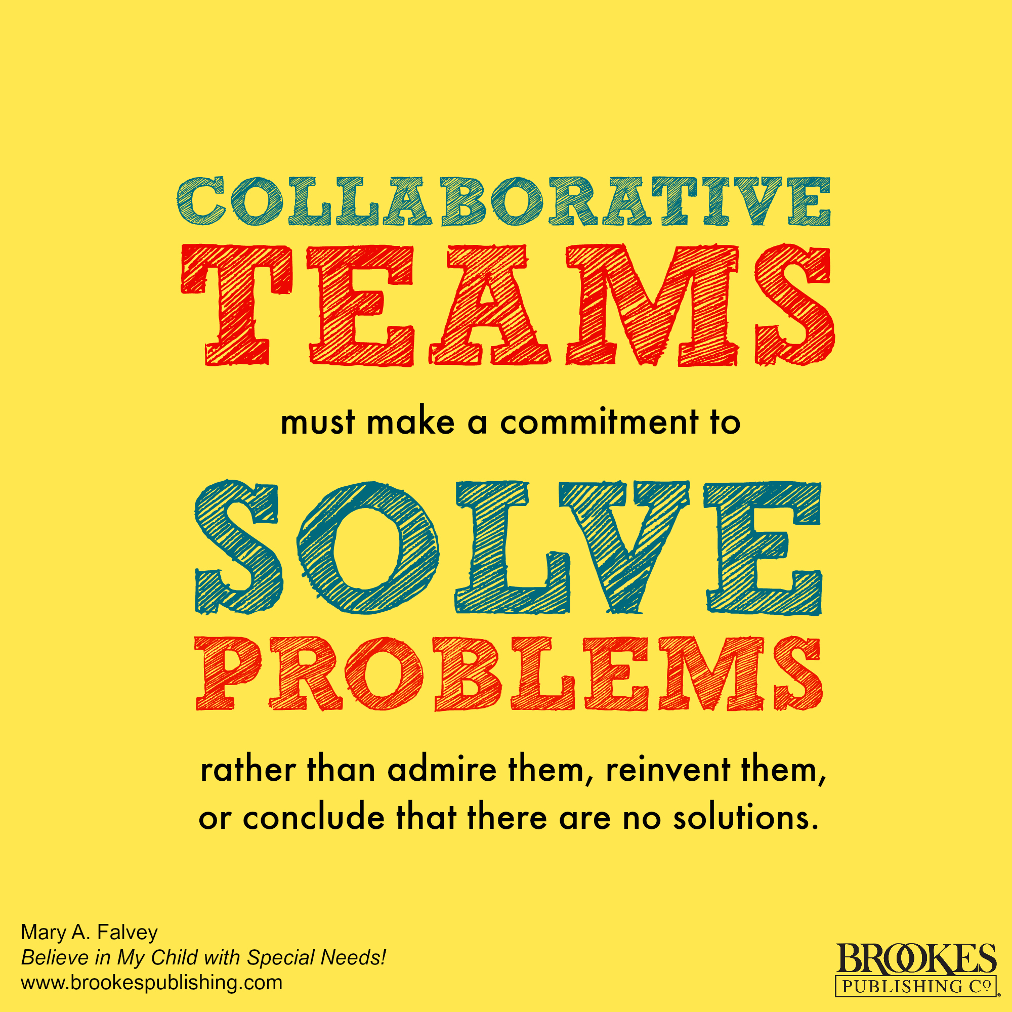 collaborative teams solve problems