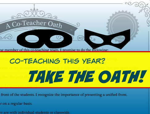 co-teacher oath