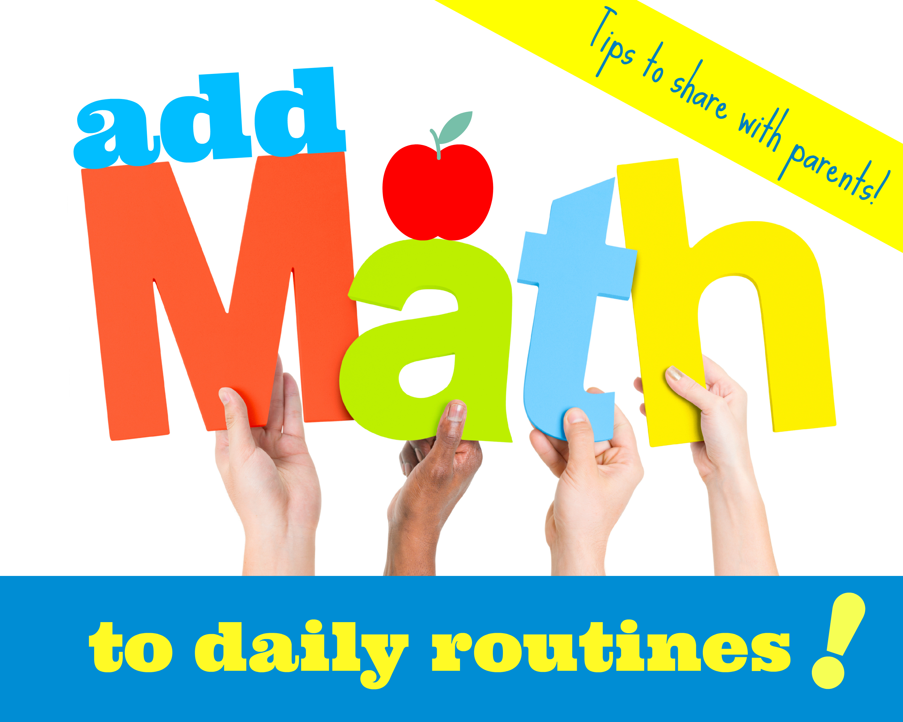 add math to daily routines