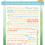 educator's job description poster