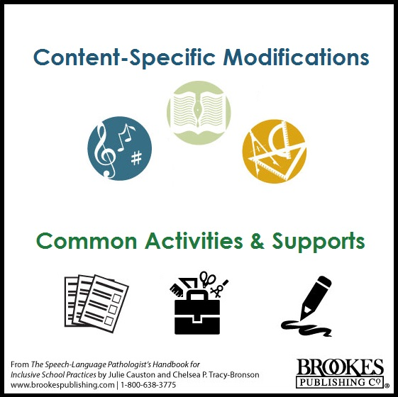 modifications activities supports