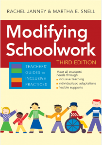 modifying school work third edition Rachel Janney