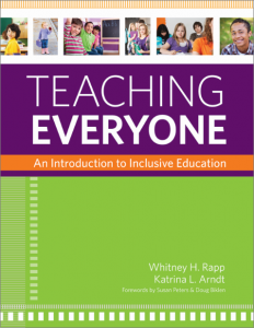 teaching everyone An Introduction to Inclusive Education
