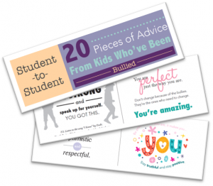 20 pieces of advice on dealing with bullying booklet