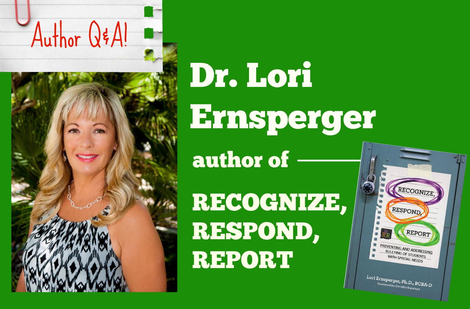 Dr. Lori Ernsperger author interview