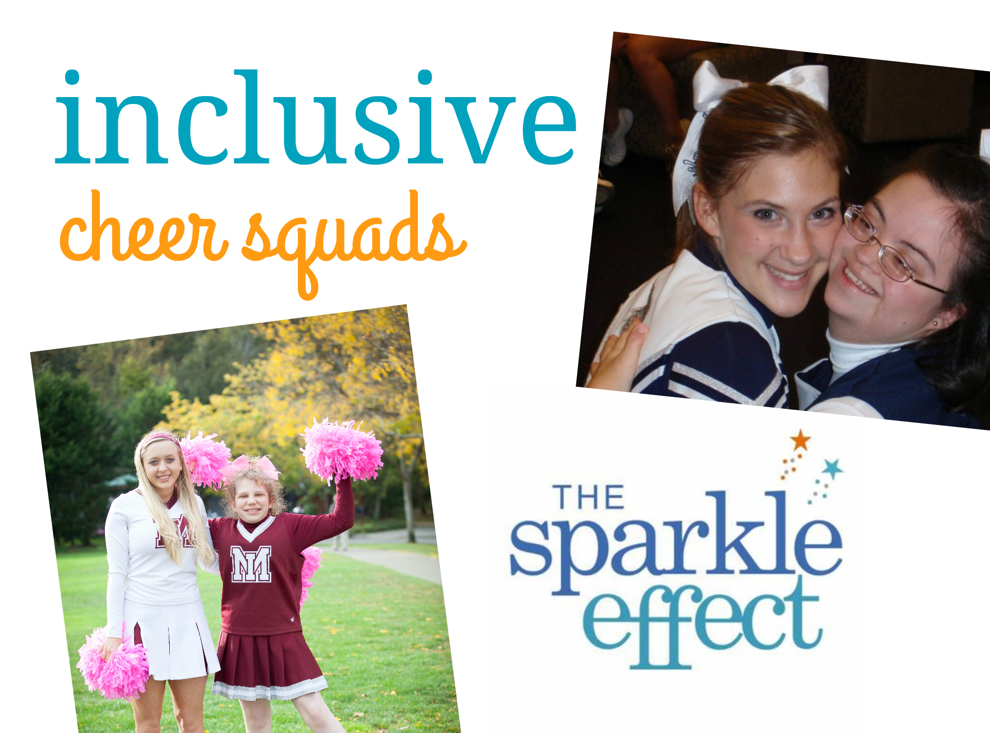 sparkle effect inclusive cheer squads