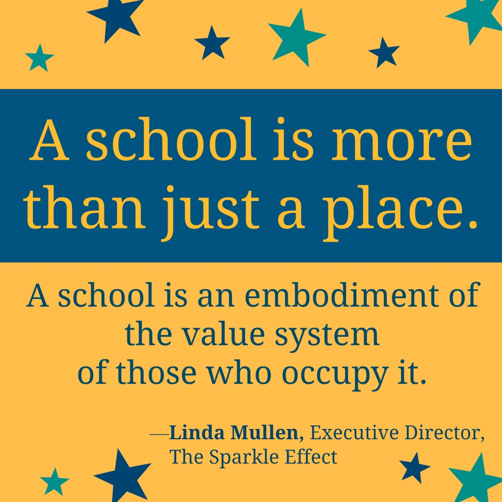 a school is more