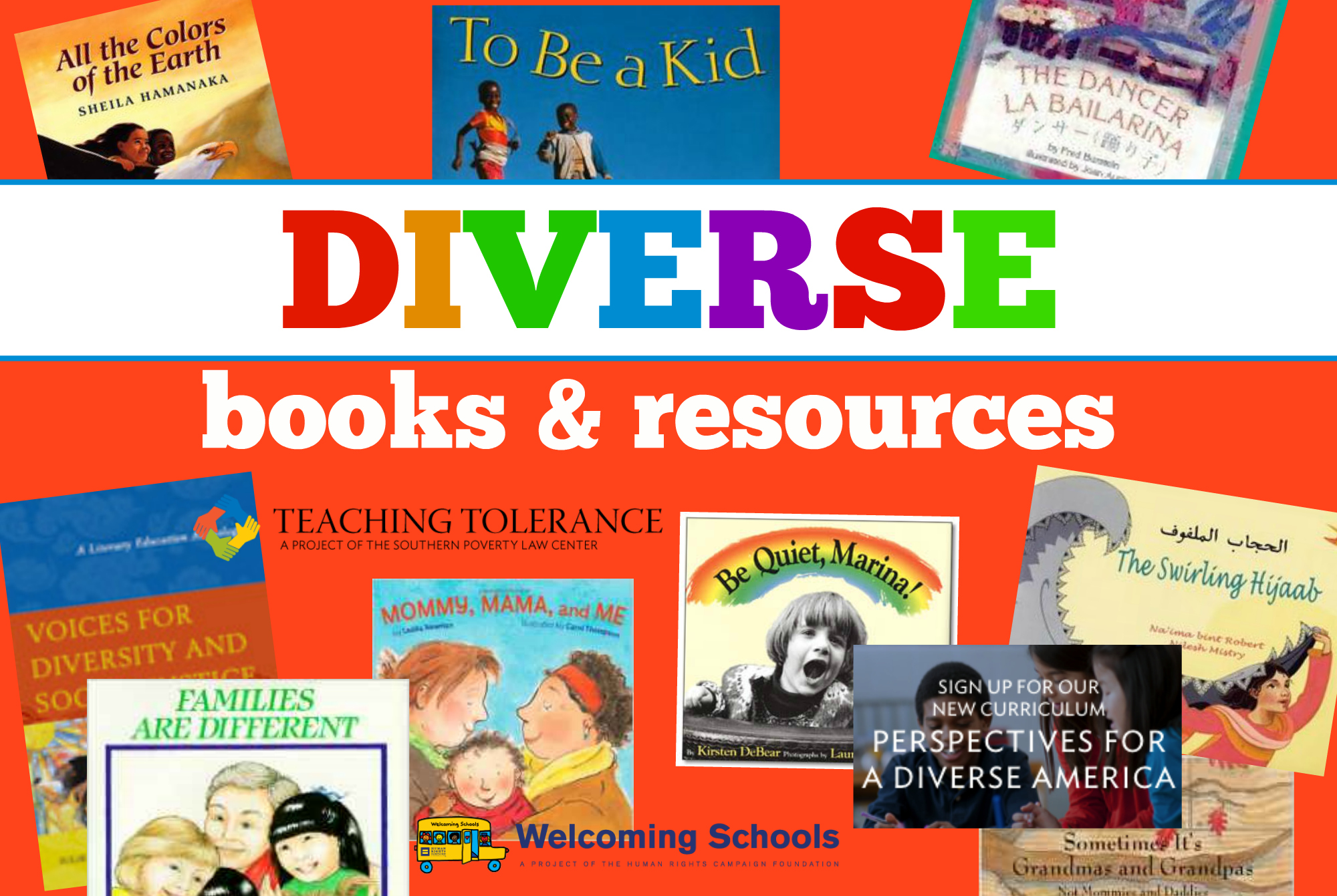diverse books and resources