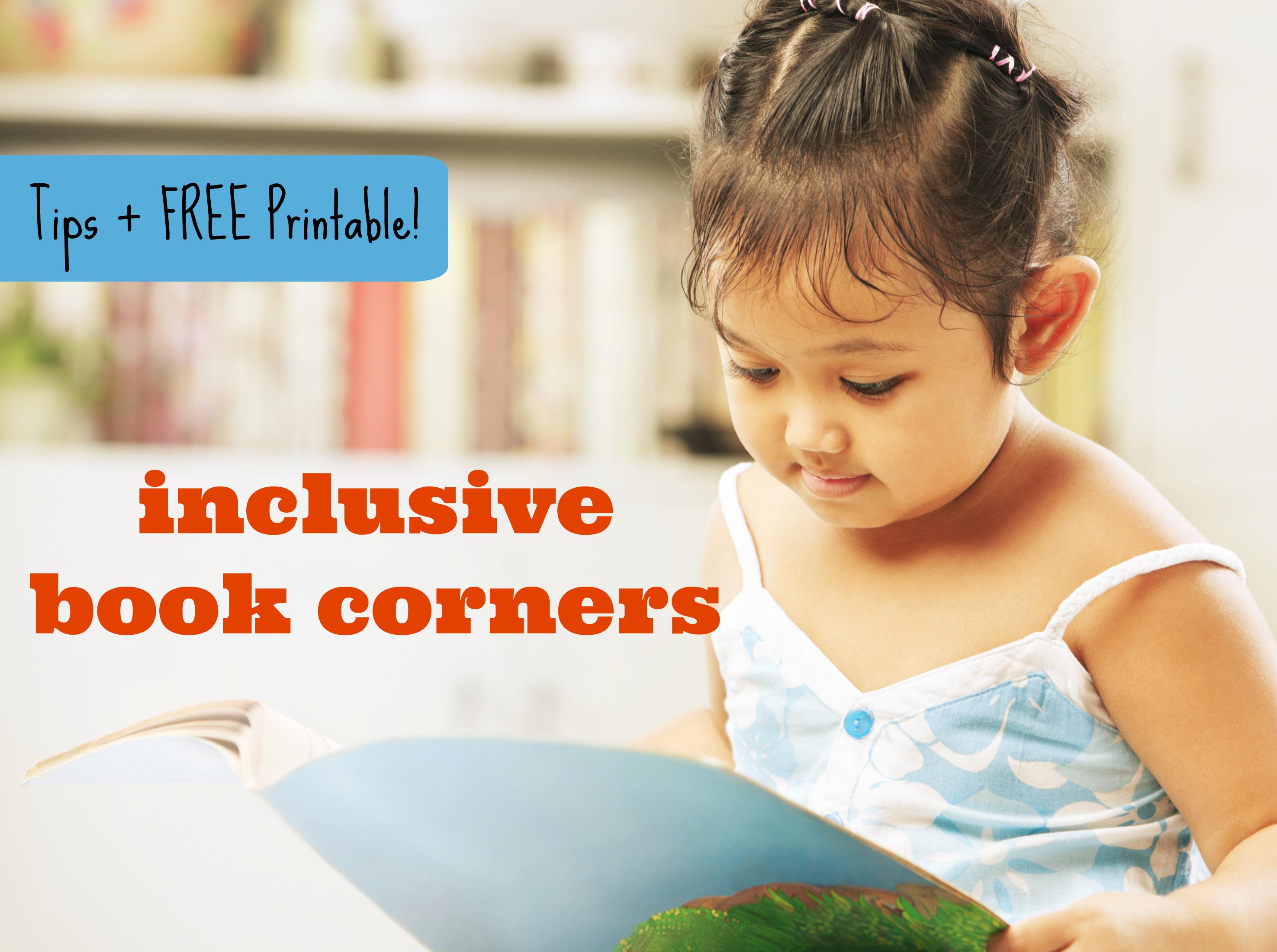 inclusive book corners