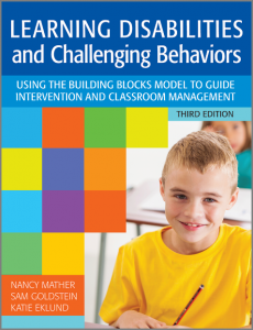 learning disabilities and challenging behaviors mather
