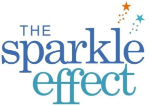 the sparkle effect logo