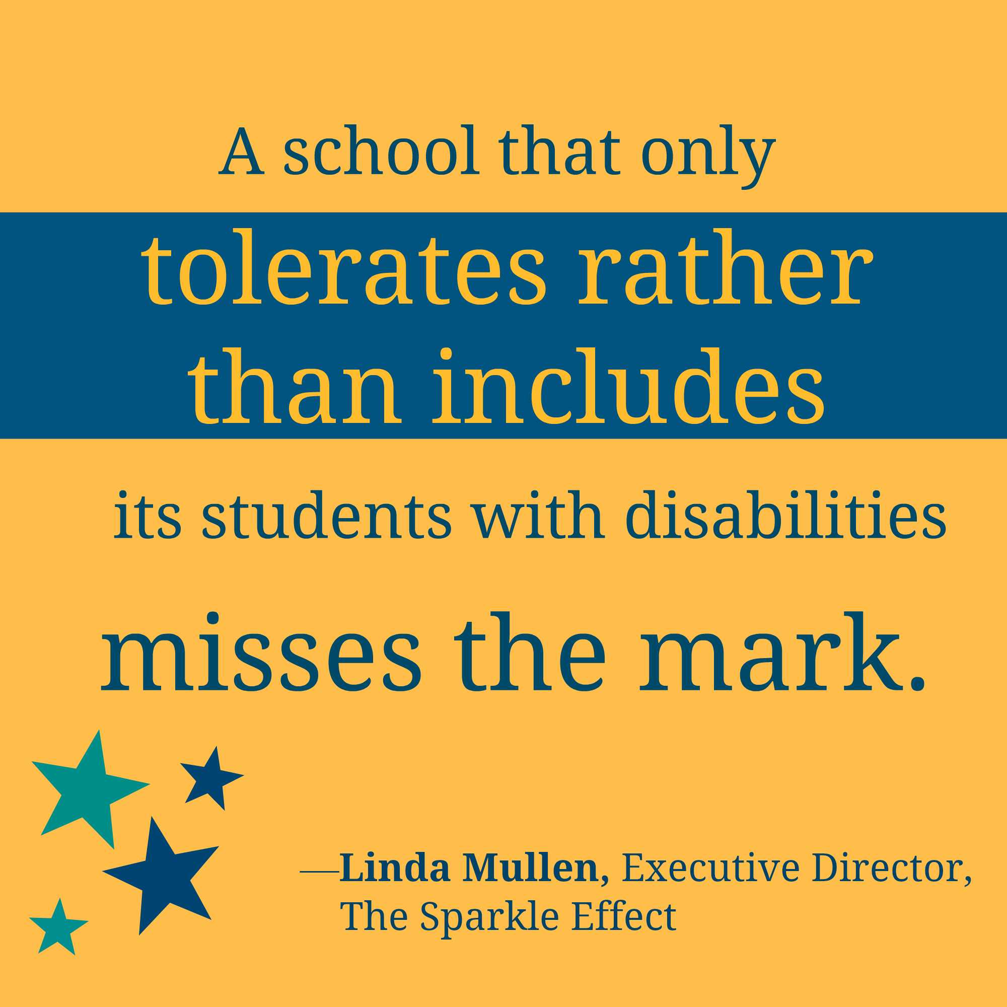 "Diversity And Inclusion Quotes Inclusion With A ""Sparkle Effect"" Q&a With Linda Mullen"