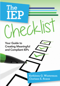 IEP Checklist book cover