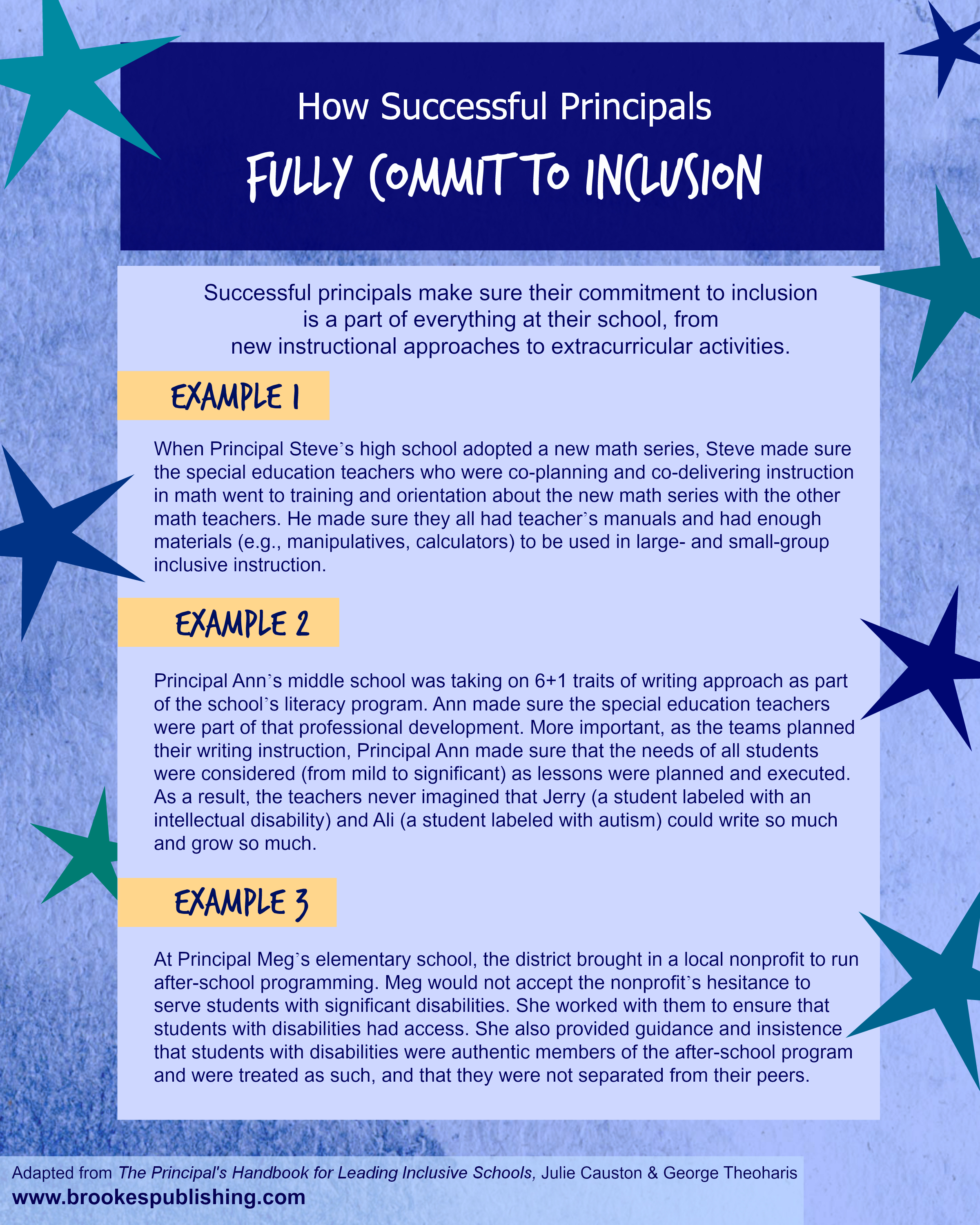 how successful principals fully commit to inclusion