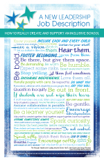 inclusion leadership principal poster