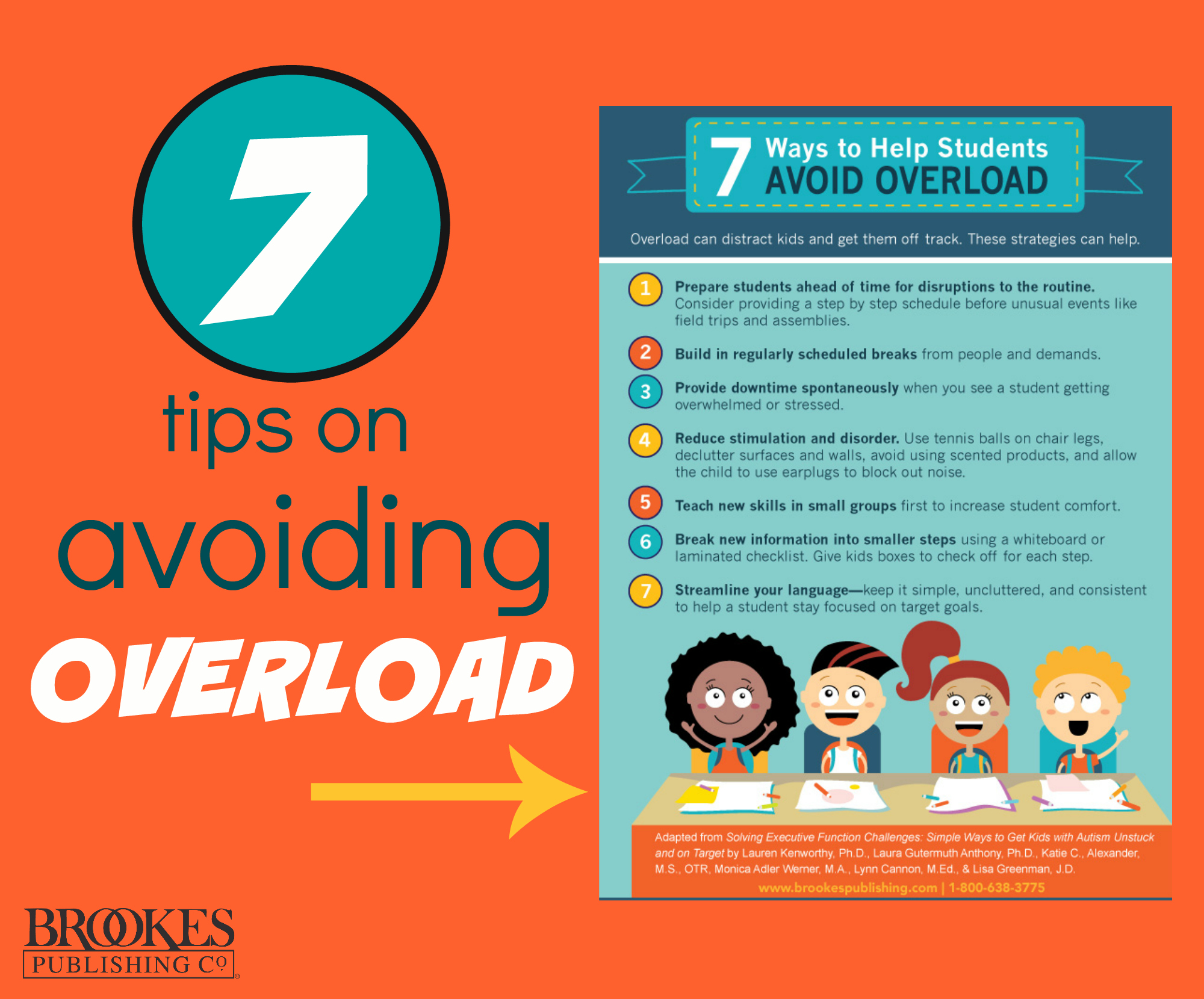 7 Tips for Helping Students Avoid Overload | Inclusion Lab