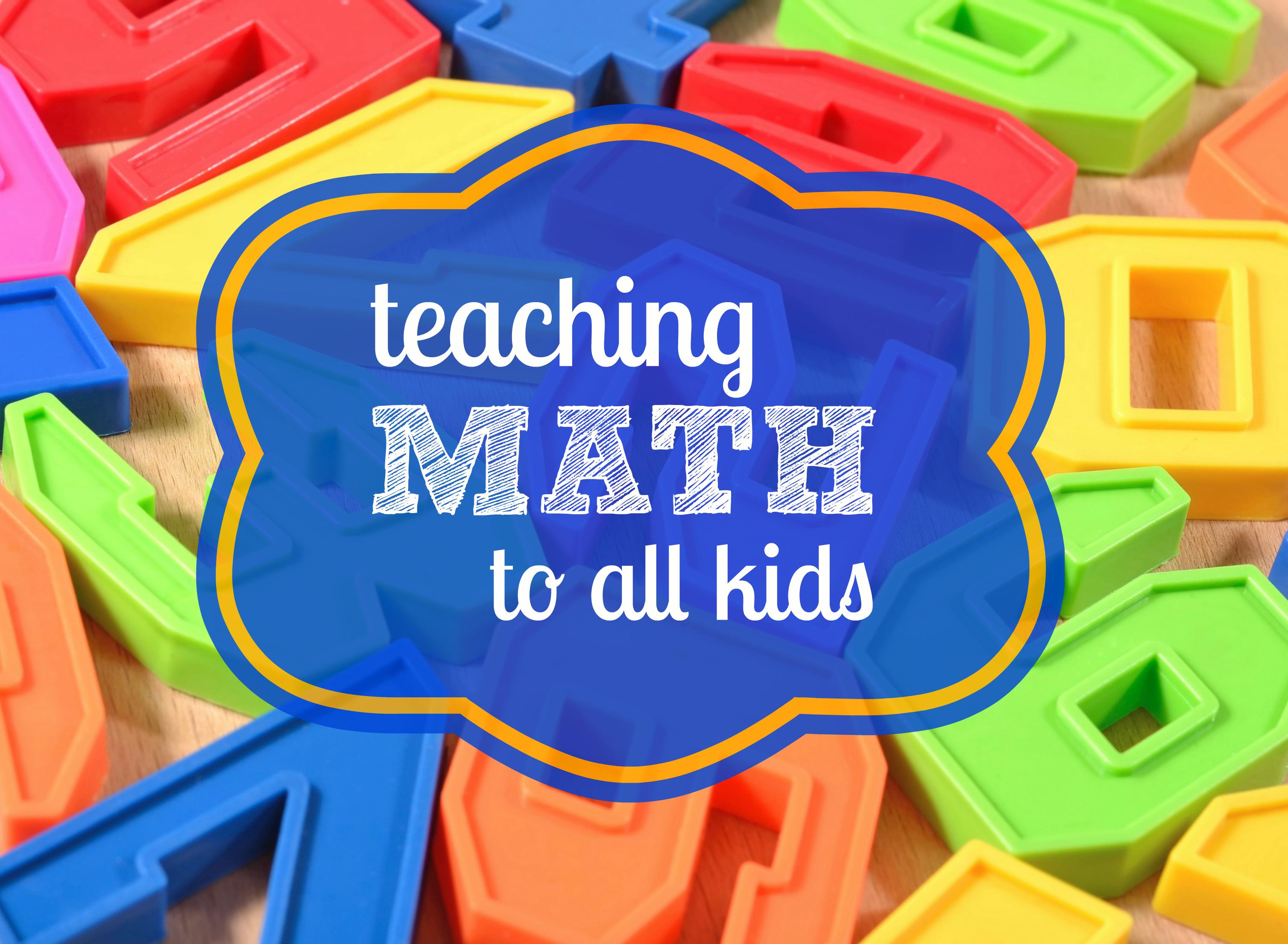 teaching math to all kids