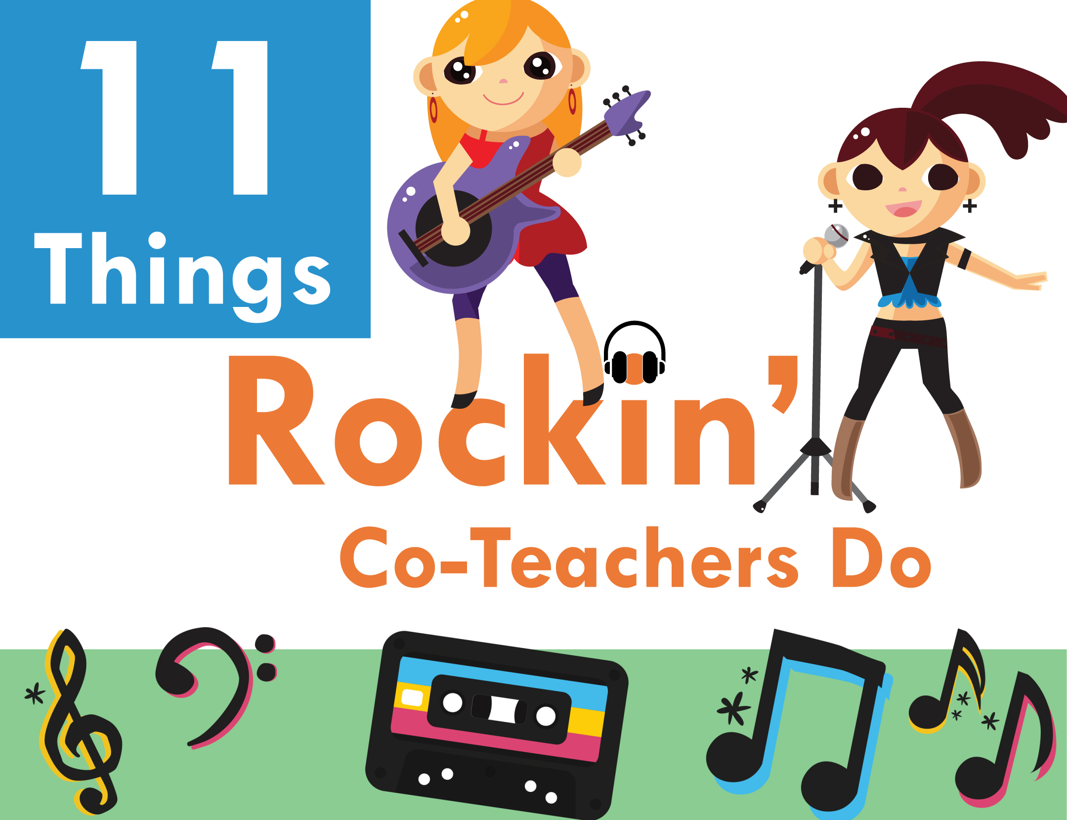 11 things rocking co-teachers do