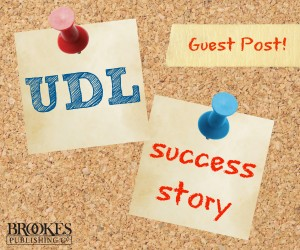 UDL success story.HEADER