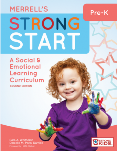 strong kids pre-k strong start book cover social emotional learning cirriculum