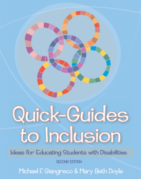 Quick-guides to inclusion Giangreco