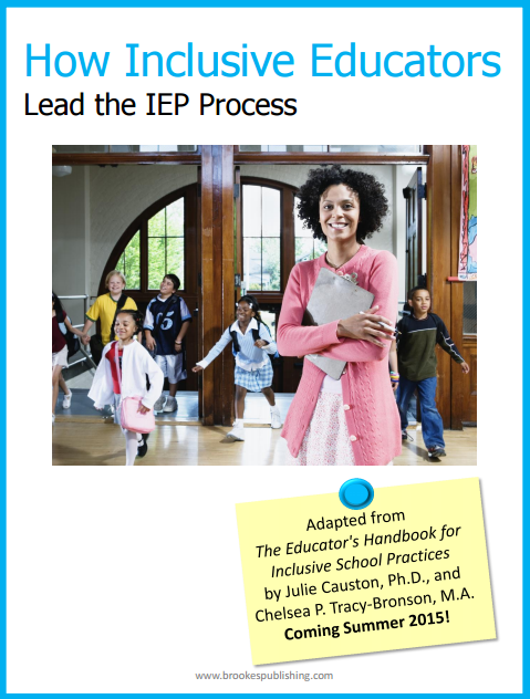 how inclusive educators lead the IEP process Julie Causton