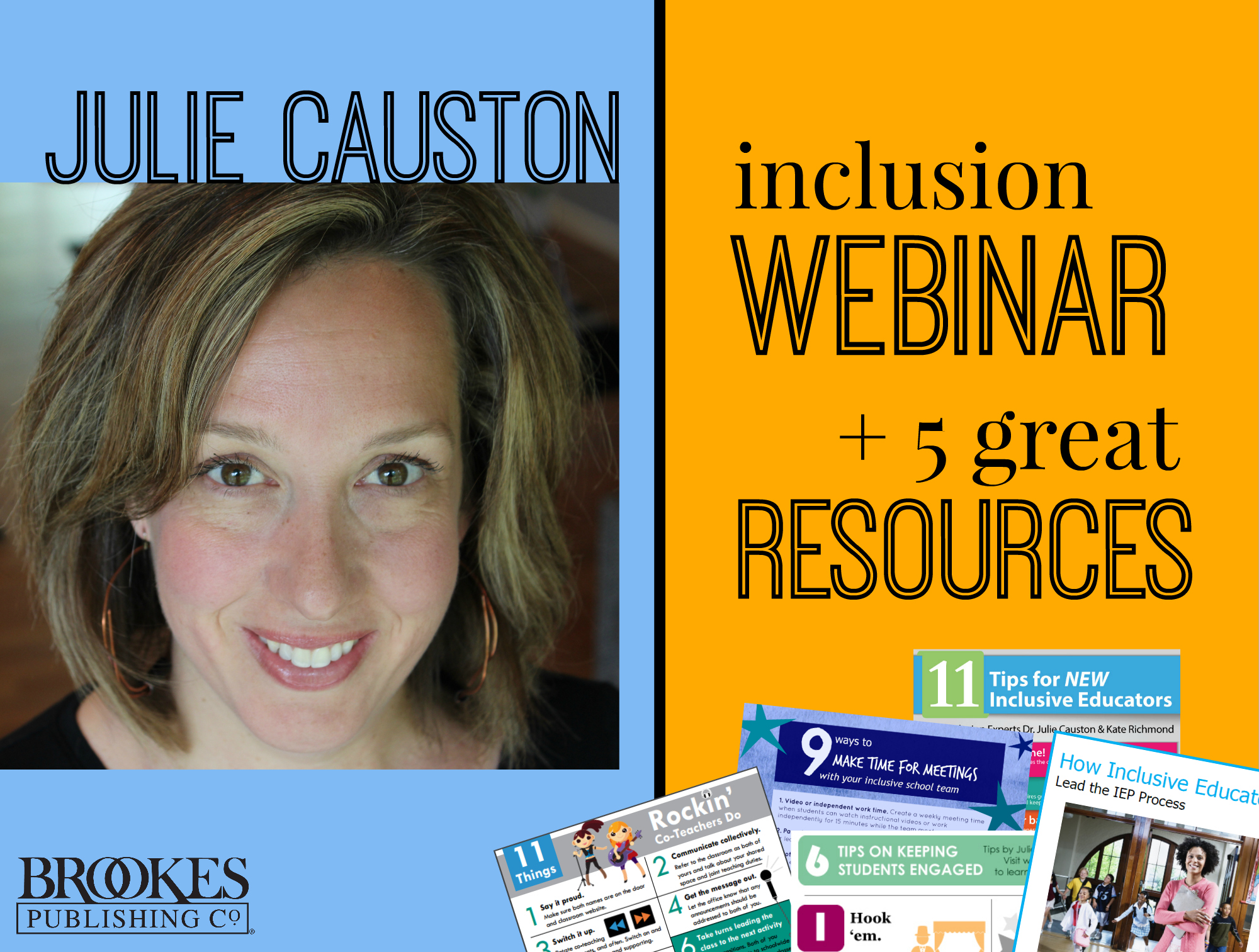 Julie Causton webinar