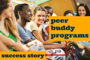 Click the image for a peer buddy program success story