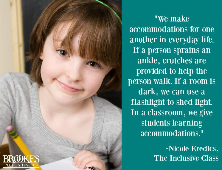 accommodations inclusive class nicole eredics
