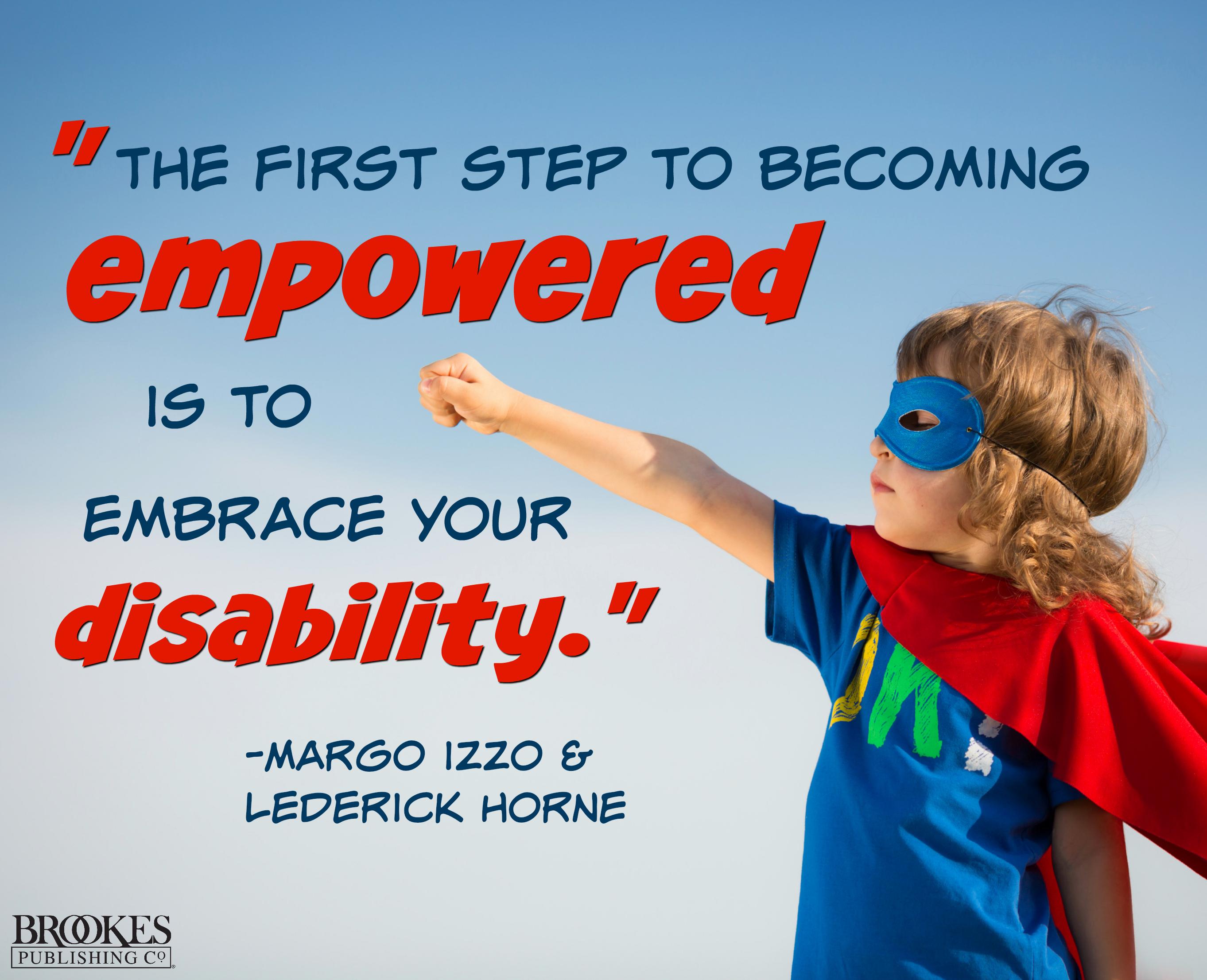 empowered disability margo izzo lederick horne