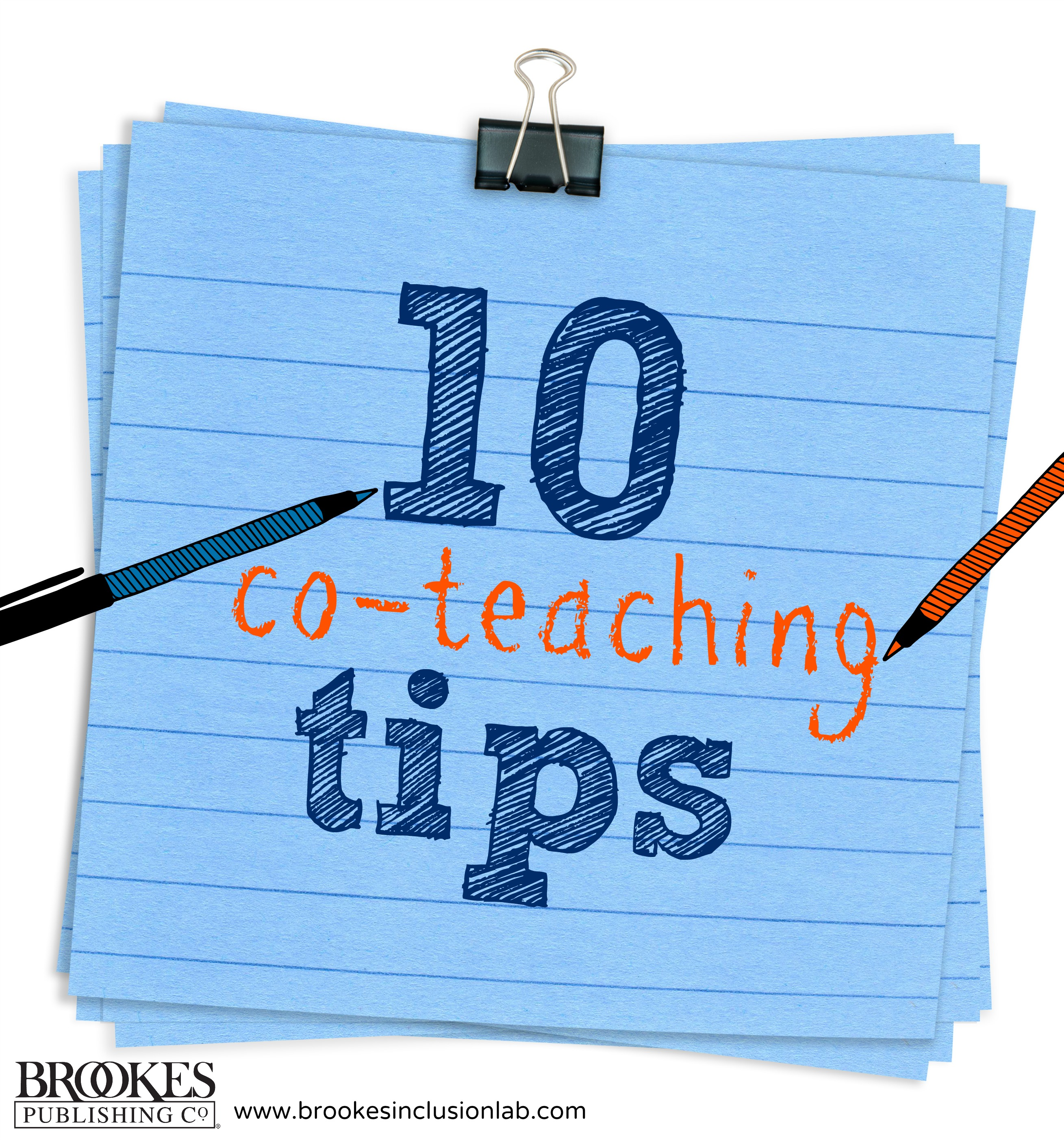 10 co-teaching tips brookes publishing Potts