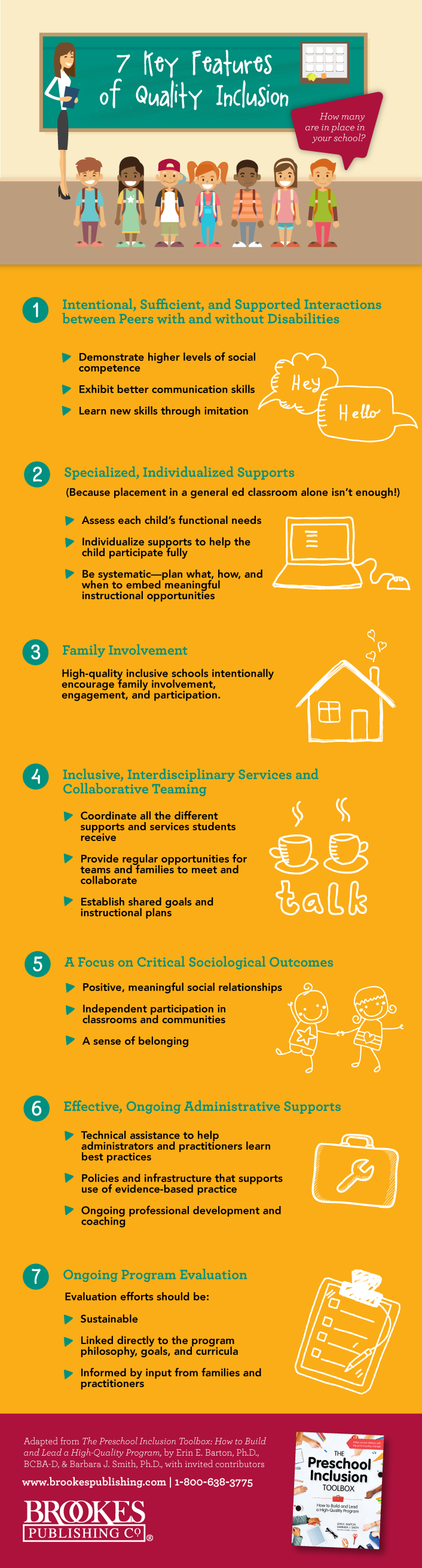 7 key features of quality inclusion
