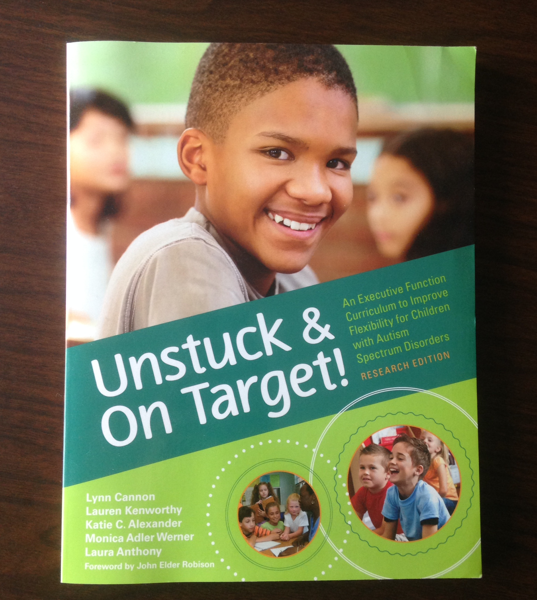 unstuck and on target book cover