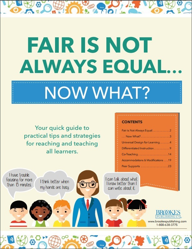 fair is not always equal ebook inclusion