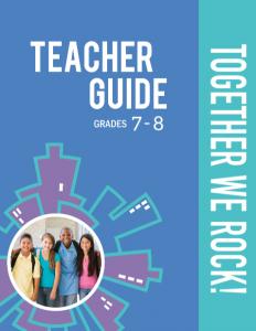 Together We Rock! Teacher Guide 7-8