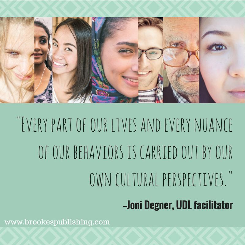 Joni Degner UDL cultural perspectives cultural