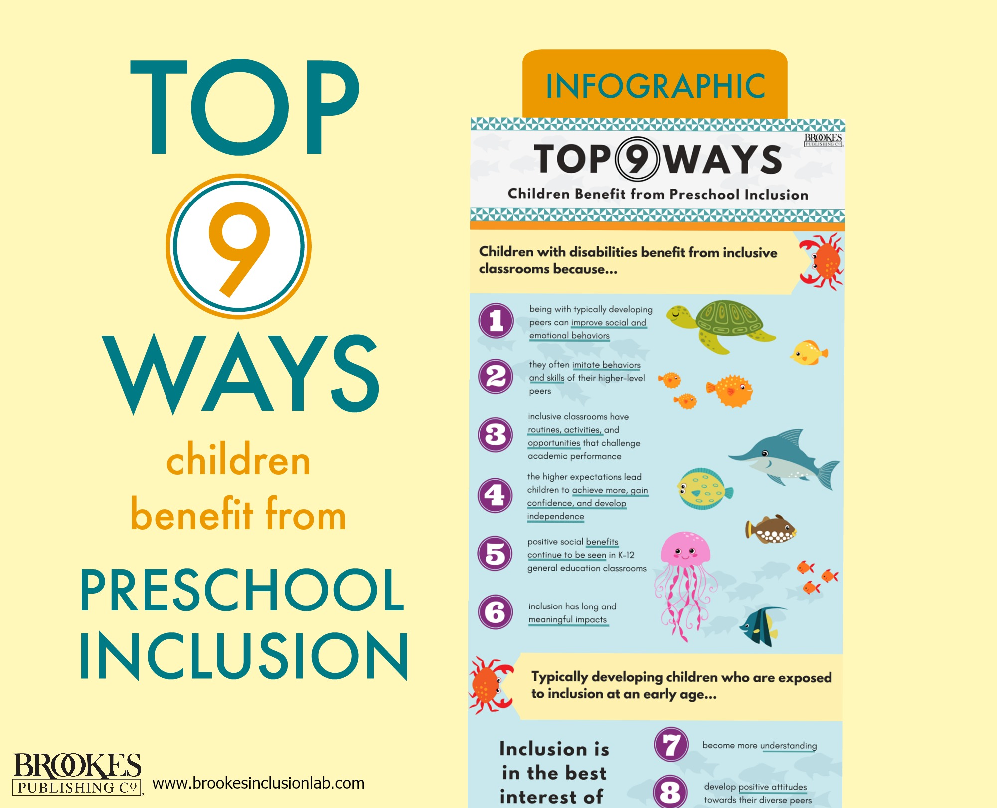 Top 9 Ways Children Benefit from Preschool Inclusion