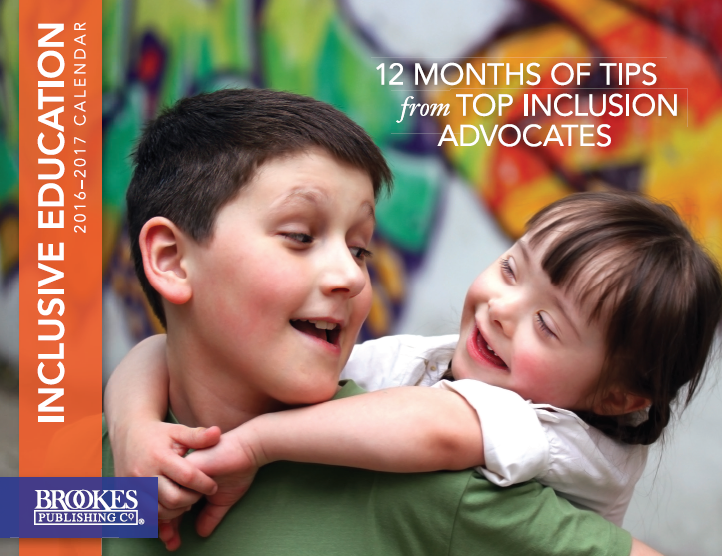 brookes publishing inclusion calendar 2016-2017
