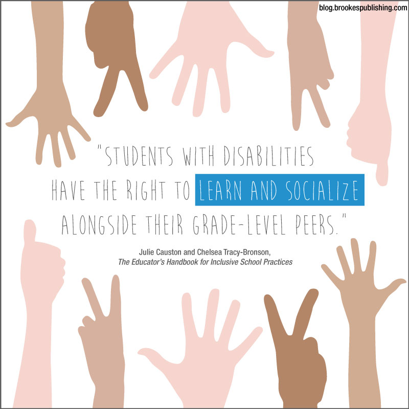 students with disabilities have the right to learn and socialize